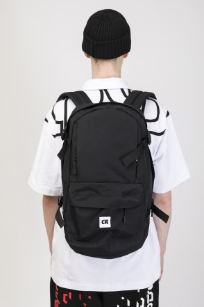 Action Backpack Black Taslan CR