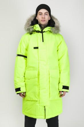 Fire 2 COR Jacket Fluorescent Lemon