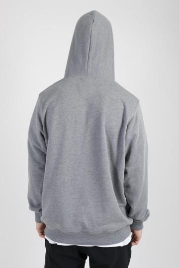 Толстовка Base Hoodie Темно-Серый Меланж