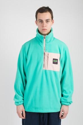 Fever Fleece Sweatshirt Mint Green/Light Pink