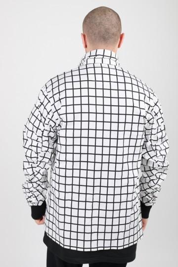 Рубашка MA-2 COR Белая/Черная Клетка