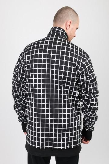 Рубашка MA-2 COR Черная/Белая Клетка