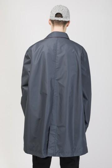 Trench Coat Dark Gray Membrane