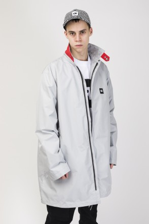 Trench Coat Ash Gray Membrane