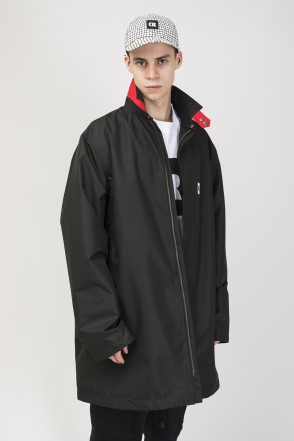 Trench Coat Black Membrane