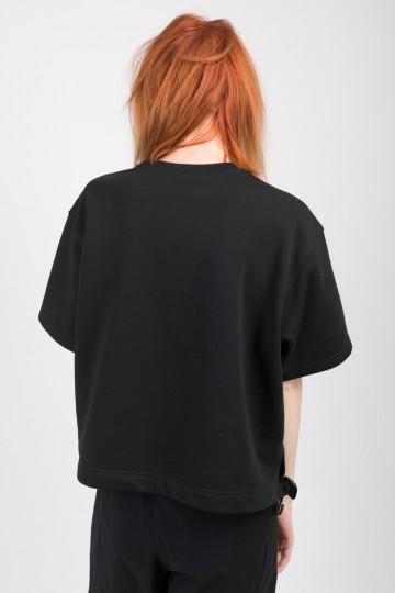 Stage Lady Crop COR T-shirt Black