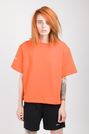 Stage Lady Crop COR T-shirt Orange
