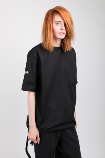 Футболка-платье T-dress COR Черный