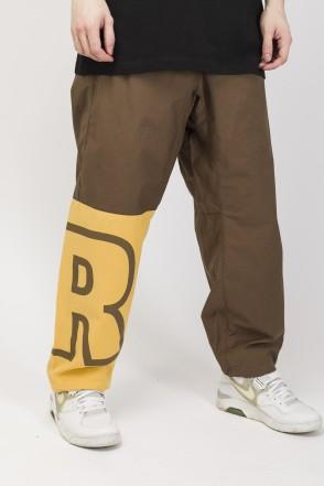 Knee Cut Pants Light Brown/Light Moustard