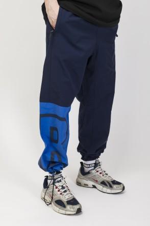 Knee Cut Pants Ink Blue/Cornflower