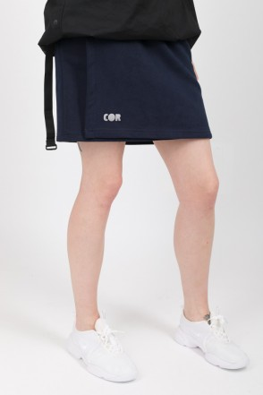Tube COR Skirt Dark Blue