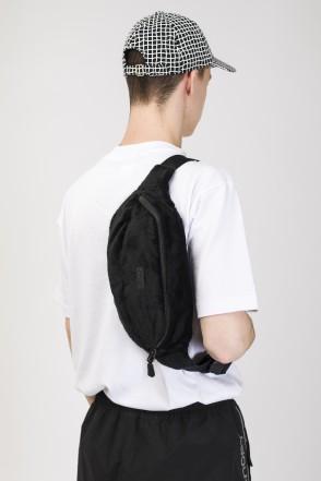 Hip Bag Large Black Fur