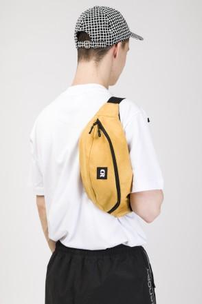 Hip Bag Large Yellow Art. Suede