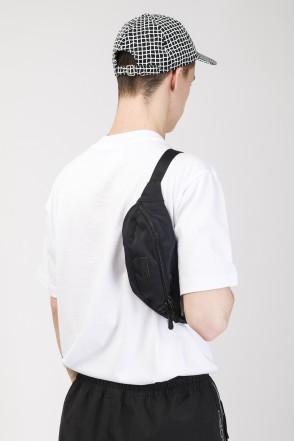 Hip Bag Black Canvas