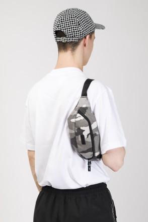 Hip Bag Dark Gray Camo