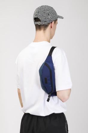 Hip Bag Blue Taslan/Blue Art. Leather