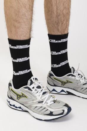 Industry Logo Sock Socks Black/White Logo