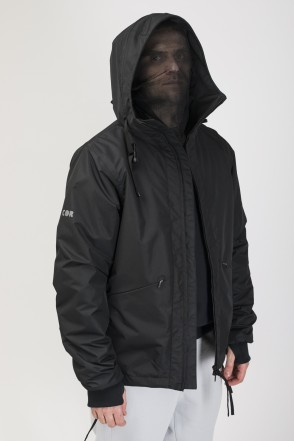 GH-L COR Windbreaker Black Membrane