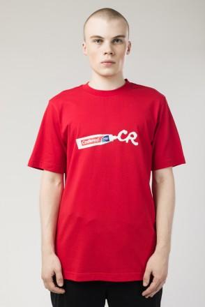 Футболка Regular Streetwear Paste Красный