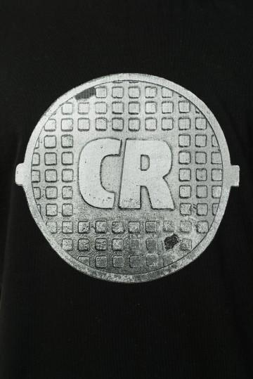 Футболка Regular Sewer Cratch Черный