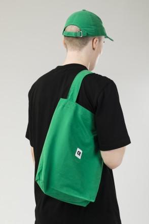 Tote Bag Bright Green
