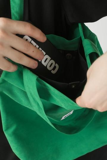 Сумка-авоська Tote Зеленый Яркий