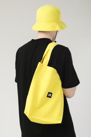 Tote Bag Bright Yellow