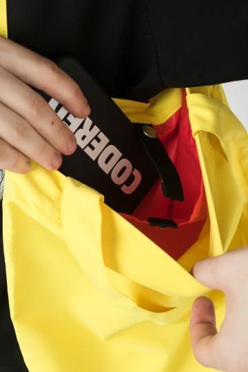 Сумка-авоська Tote Желтый Яркий