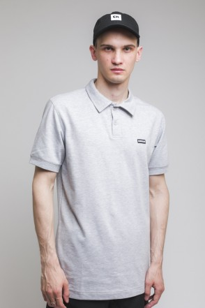 Scout Polo T-shirt Light Gray Melange