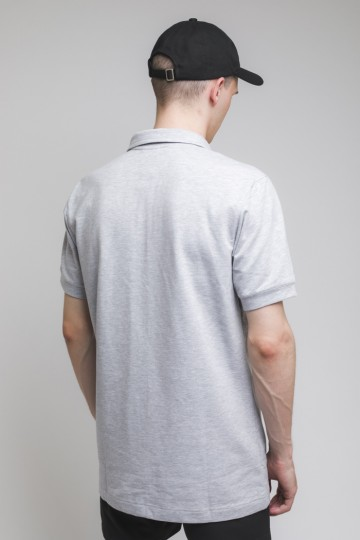 Scout Polo T-shirt Light Gray Melange
