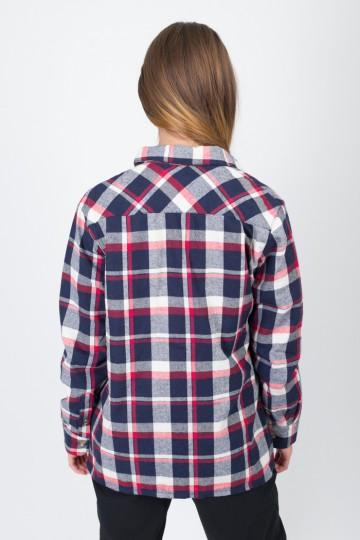 Рубашка Harbor Lady Красный/Синий Темный/Белый