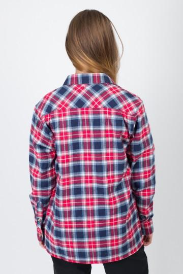 Harbor Lady Shirt Dark Blue/Red/White