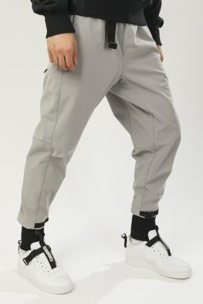 P-Shell 2 COR Pants Ash Gray