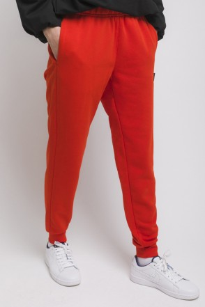 Basic Lady Summer Pants Scarlet