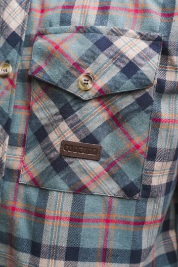 Рубашка Harbor Зеленый Бледный/Синий Чернильный/Песочный/Красный
