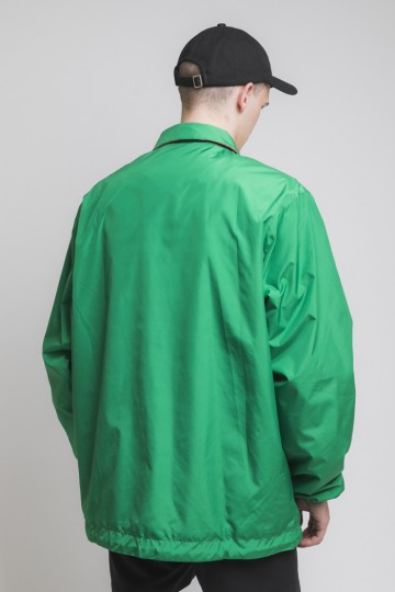 Ветровка Coach Зеленый Яркий