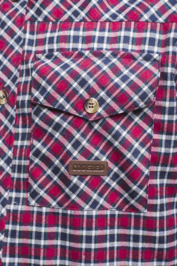 Рубашка Harbor Красный/Синий Чернильный/Молочный/Зеленый