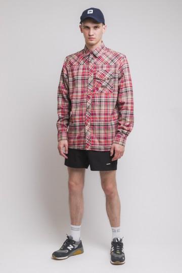Рубашка Harbor Красный/Малиновый/Бежевый/Синий Чернильный/Молочный