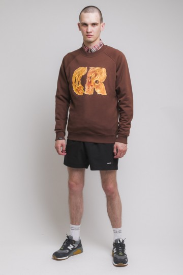 Firm Summer Crew-neck CR Cat Brown