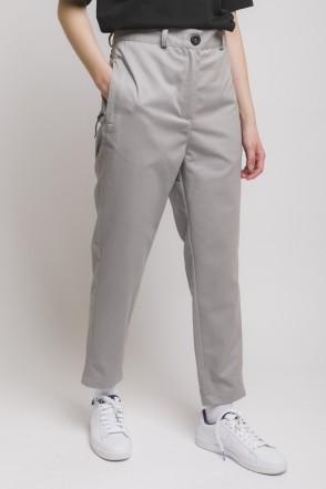 Chino Lady Trousers Light Gray