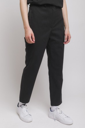 Chino Lady Trousers Black