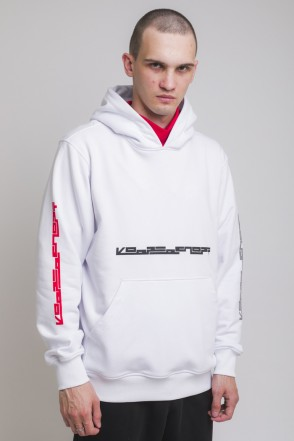 Hood Up Summer Hoodie White Four Side Industry