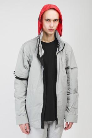 Hidden Front COR Jacket Gray