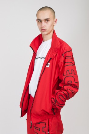 Train Up Track Jacket Light Red