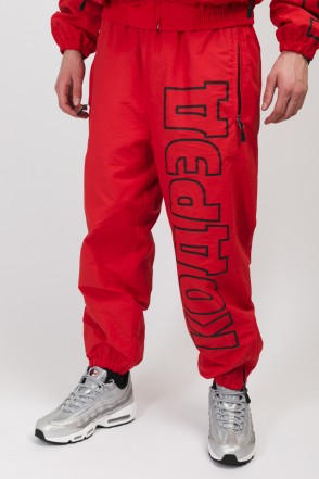 Train Low Pants Light Red