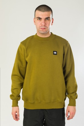 Squad Crew-neck Army Green