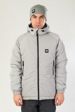 Куртка зимняя Nib 3 Серый Светлый