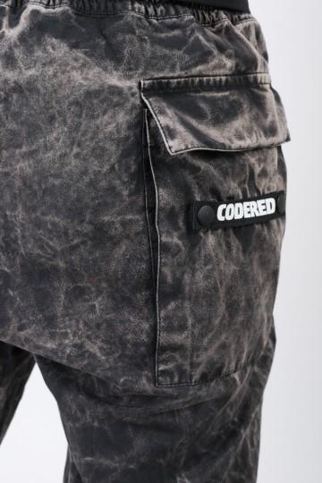 Штаны Cargo GD COR Черный/Бежевый