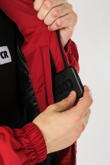 Куртка зимняя Nib 3 Красный Темный
