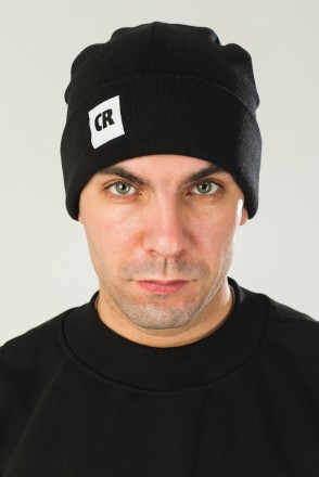 Rib Mix Hat Black